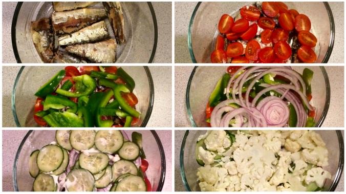 Salad grid