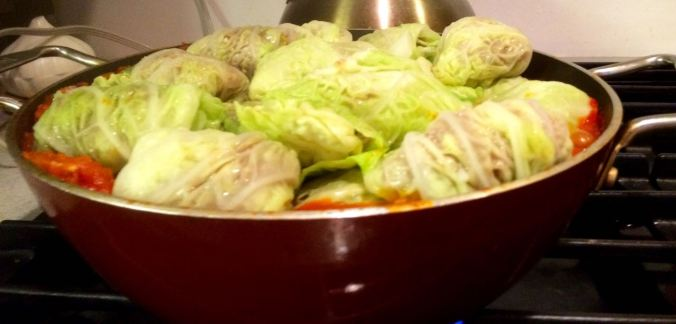 Stuffed cabbage 8