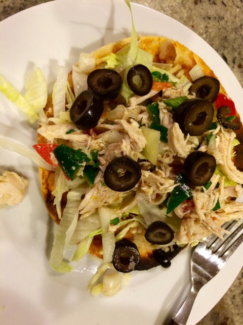 chicken tostada 16
